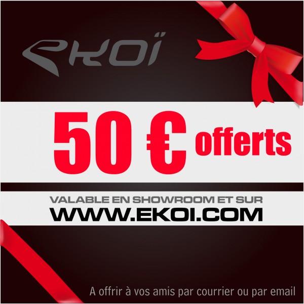 CHEQUE CADEAU 50 euros