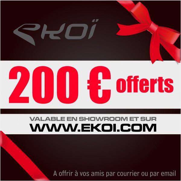 CHEQUE CADEAU 200 euros