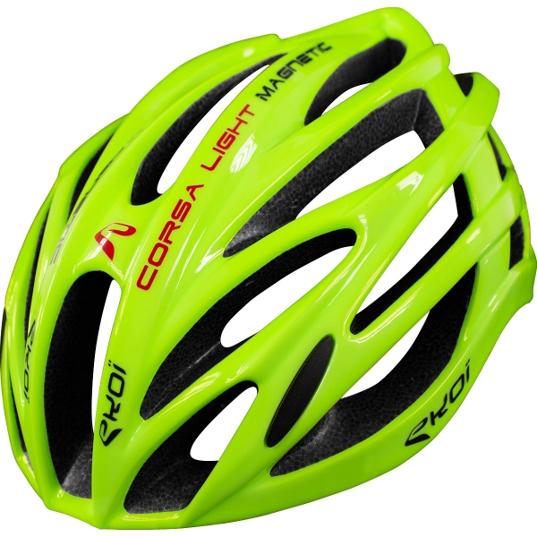 Casque EKOI CORSA LIGHT Fluo Jaune