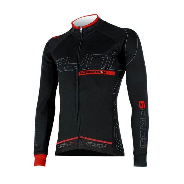 Maglia inverno EKOI Competition9 Full black