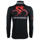 Polo EKOI Cycling Team 2016 Manches Longues Noir