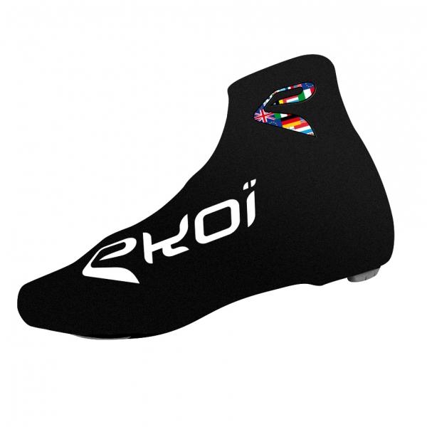 Surchaussures vélo été EKOI COMP 2017 Noir