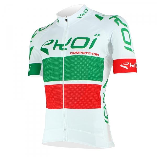 Maglia EKOI COMP10 Bianco Verde Rosso