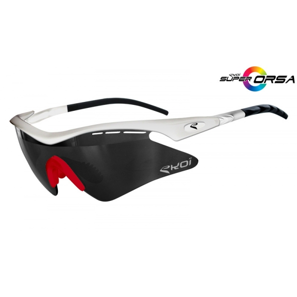 Super Corsa EKOI LTD Blanc rouge Mirror