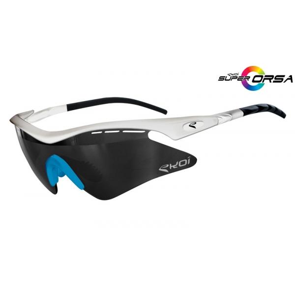 Super Corsa EKOI LTD Blanc bleu Mirror