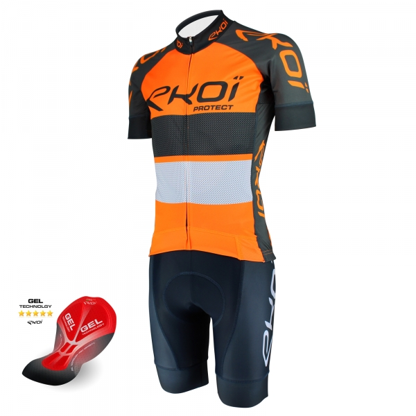 Pack été EKOI PROTECT GEL Orange fluo Gris