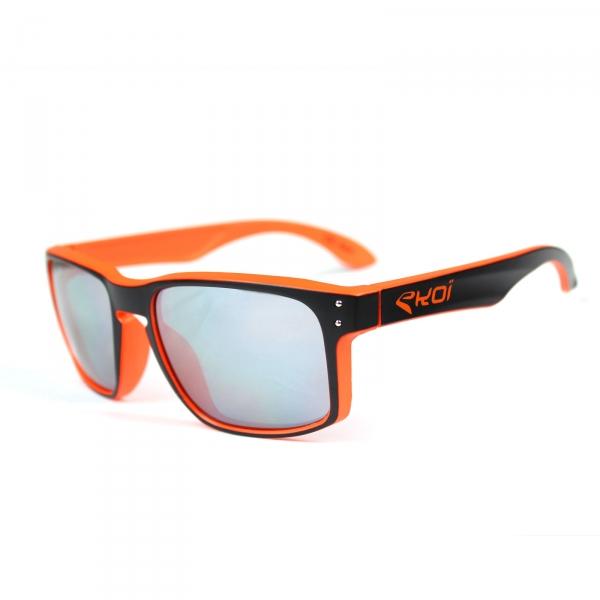Occhiali EKOI Lifestyle nero arancione