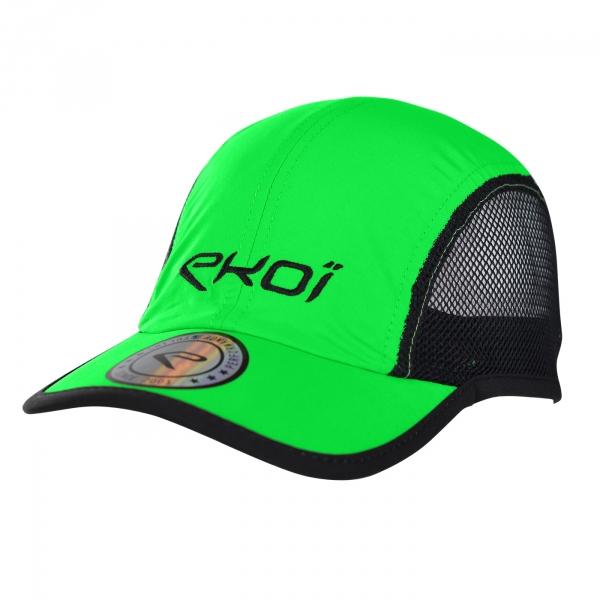 Berretto EKOI RUN Runner Cap Verde fluo