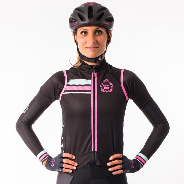 Gilet vélo femme EKOI LADY Classic Noir
