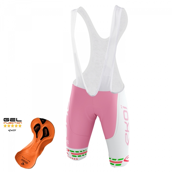 Cuissard EKOI COMP11 Gel Injection Italia Rosa